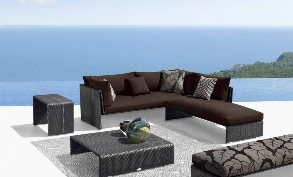 Slim line divano di dedon outdoor arredamento for Outdoor arredamento