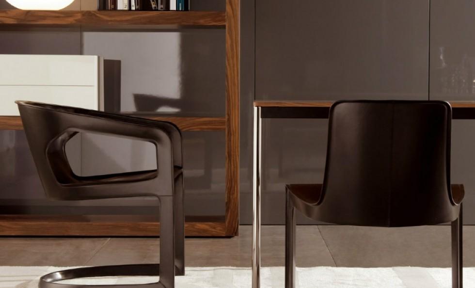 Twombly poltroncina di minotti sedie poltroncine for Arredamento sedie
