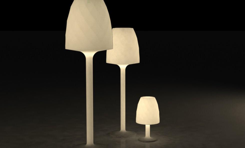Vases di vondom lampade da esterno illuminazione - Lampade esterno design ...