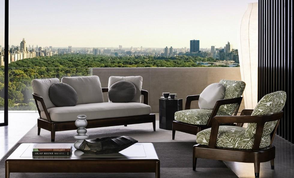 virginia divano outdoor di minotti divani e poltrone