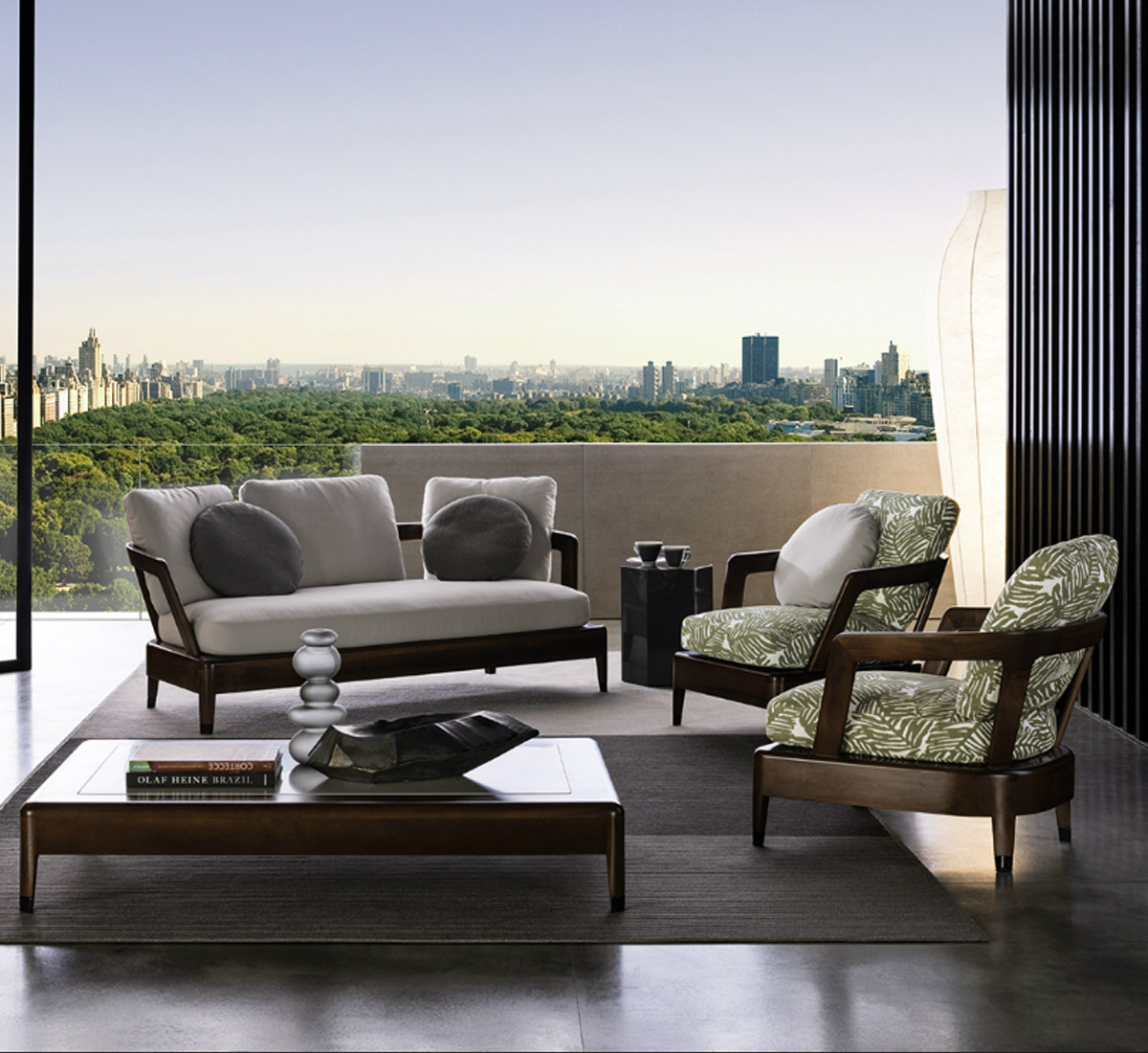 Virginia Divano Outdoor di Minotti | Divani e Poltrone - Outdoor ...