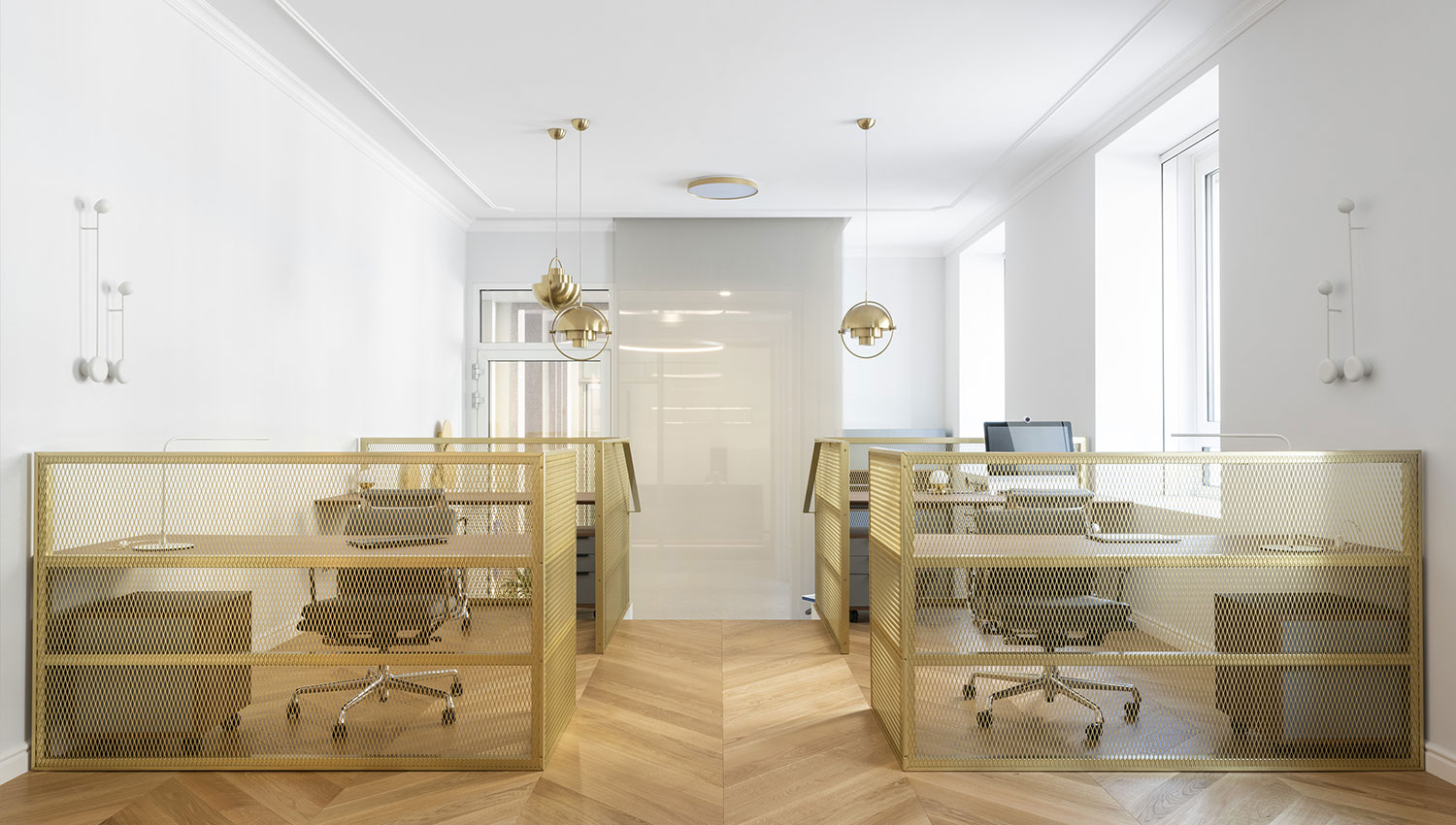 Office lighting design