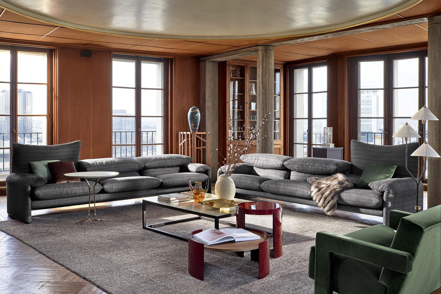Living room by Cassina
