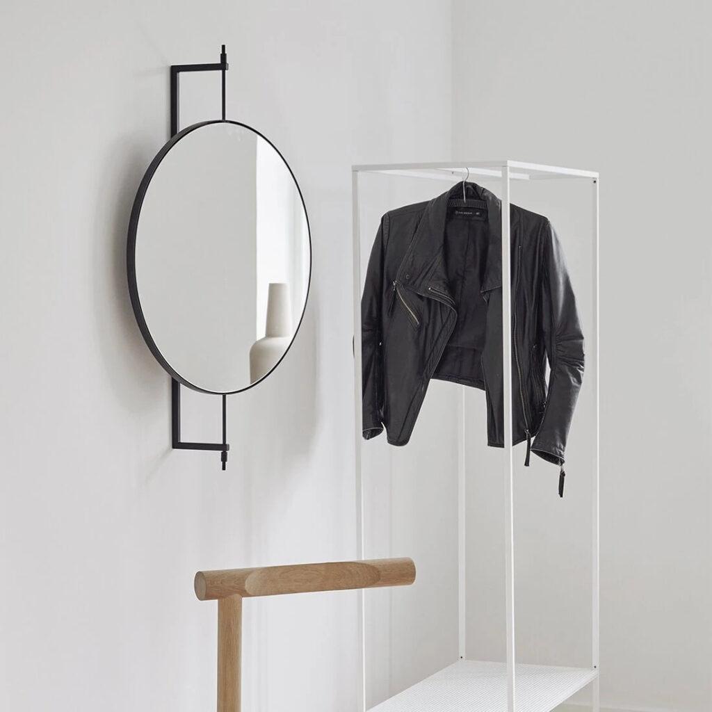 Rotating mirror by Kristina Dam