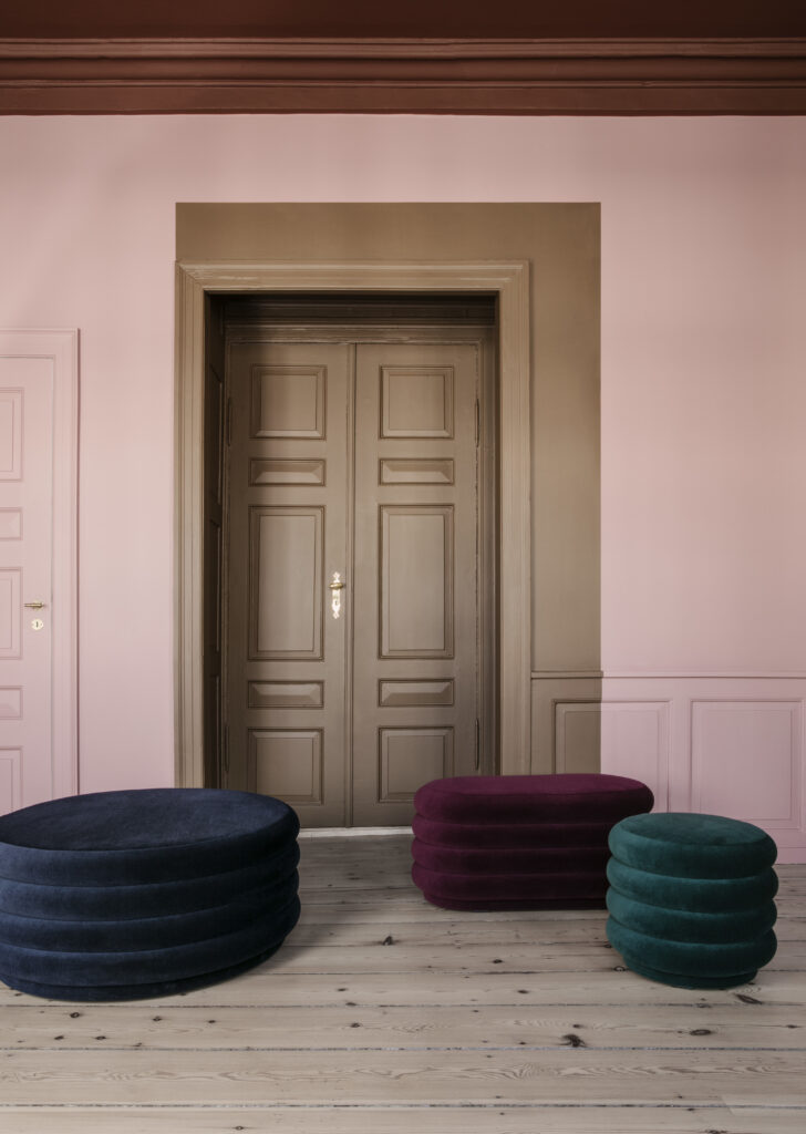 Pouf High Pile by Ferm Living