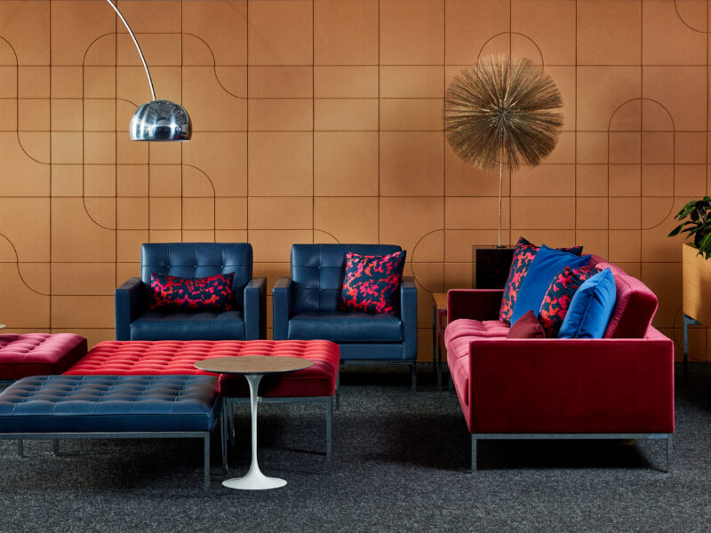Relax Sofa by Florence Knoll
