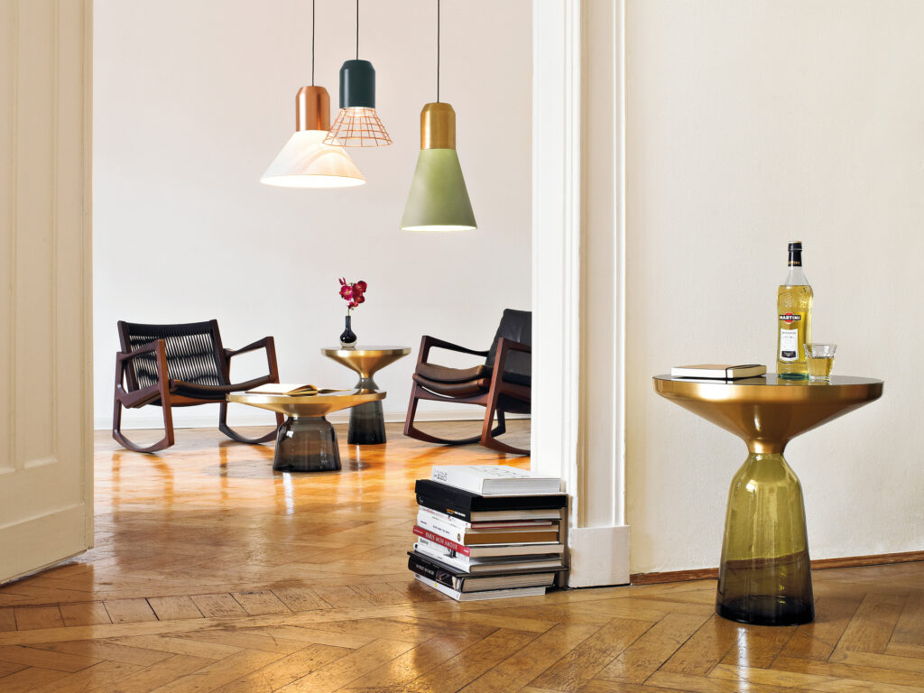Bell table by ClassiCon