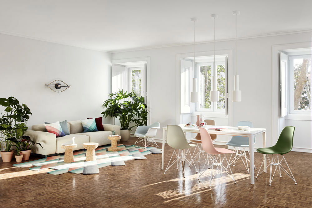 Eames Plastic Chair by Vitra